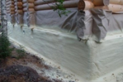 Утепление фундамента и цоколя